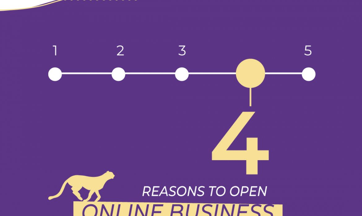 4 reasons to open an e-commerce business